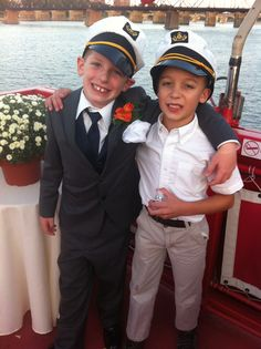 Co Captains on the Ship