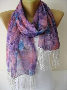 BiG SALE scarf women scarves fashion scarf gift by MebaDesign, $9.90