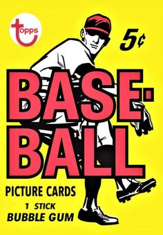 Topps adds vintage baseball card wrappers to its wall art offerings - Beckett News Baseball Posters, Baseball Art, Baylor Basketball, Baseball League, Baseball Stuff, Independent Day, Baseball Card Packs, Thing 1, Picture Cards
