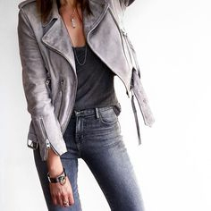 Denim Guide: How To Wear Leather Jackets With Jeans