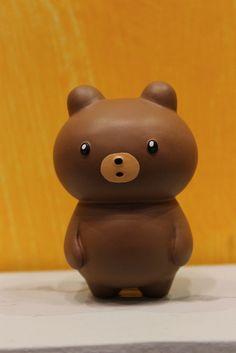 "Adorable cute bear figurine. ""Oh."" 可愛らしい熊のフィギュア, Design Festa"