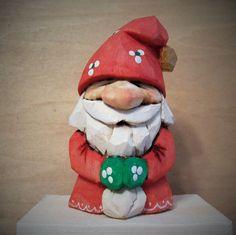 """Mini Santa 1.25"""" x 1.25"""" x 3"""""""