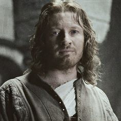 There are few things in life that make me as happy as seeing Faramir, who is a sweet, wonderful, brilliant person. Who went through so much hell, the scorn of his father, the death of his brother; the only person who loved him enough. And he has this wistful face in the picture, he doesn't know that she'll fall in love with him too, but just seeing her beauty helps to take away some of his pain.