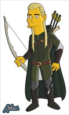 Springfield Punx: Legolas