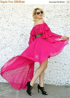 SALE 20% OFF Cocktail Dress Pink Ruffled Dress Chiffon https://www.etsy.com/listing/513921158/sale-20-off-cocktail-dress-pink-ruffled?utm_campaign=crowdfire&utm_content=crowdfire&utm_medium=social&utm_source=pinterest