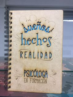Agendas personalizadas by Remember me. Inst: @Remember20me, Agenda para una psicóloga, ideas de regalos, cuadernos personalizados, ideas