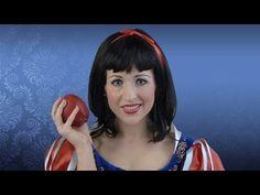 DIY - Snow White costume makeup tutorial #Beauty #Halloween