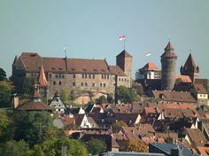 #Castle #Nuremberg, #Bavaria