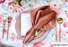 Wedding Linens, Wedding Napkins, Wedding Table, Pottery Barn Curtains, La Tavola Linen, Table Setting Inspiration, Wedding Inspiration, Dining Room Curtains, Velvet Color