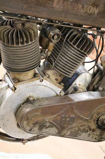 OldMotoDude: 1913 Harley-Davidson Model 9E on display at the St. Francis Motorcycle Museum -- Kansas