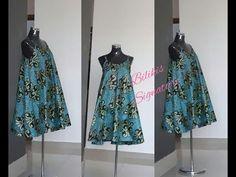 Guys I cannot believe how easy it is to sew this Circle dress/Umbrella Dress / kurti. Gown Pattern, Dress Patterns, Sewing Patterns, Coat Patterns, Circle Skirt Tutorial, Kalamkari Dresses, Dress Tutorials, Sewing Tutorials, Sewing Ideas