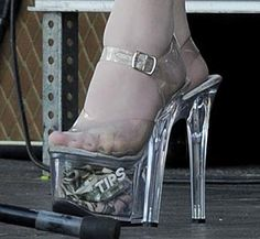 Fun Pouch: Outrageous Celebrity Shoes