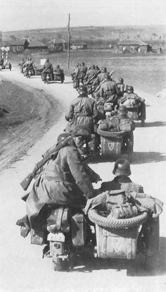 LSSAH On the move through Bulgaria to the Yugoslav border at Klistendil on April 7, 1941.