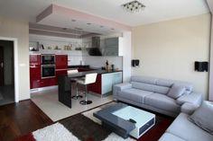 Kétszobás kis lakás praktikus amerikai konyhával és komoly, letisztult, de…