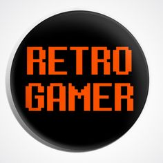 "GAME OVER GAMER GAMING Badge//Button GIFT with METAL PIN Size is 1/"" // 25mm"