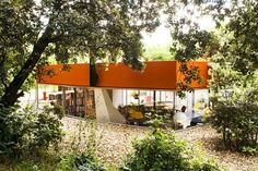 Modern Silicom House in Madrid Peeks Out from a Leafy Allotment | Inhabitat - Sustainable Design Innovation, Eco Architecture, Green Building