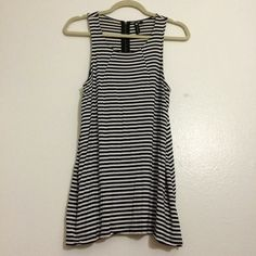 Cotton On striped tank top/dress Meant for as a tank top but can be used as a dress too  Cotton On Tops
