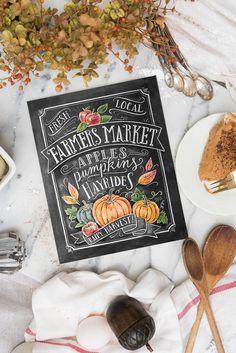 Fall Farmers Market - Print
