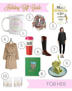 Welcome to Part 2 of my Holiday Gift Guide. If the girl you are shopping for is chic, trendy, and a little gi. Holiday Gift Guide, Holiday Gifts, Little Gifts, Seasons, Holidays, Outfit, Lady, Blog, Inspiration
