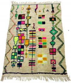 Berber teppich muster  Kelim Marokkanische Berber Teppich Azilal 265 x 127 cm | Teppiche ...