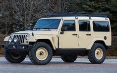 Jeep Africa Concept Vehicle - Jeep needs to make this. I need to own one. Nuff said.