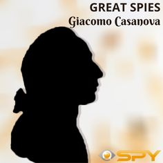 Many people know Casanova as the great lover he was, but in reality, he was far more than that. He was an intellectual genius, writer, poet, musician, lover, and one of the best spies in the history of humankind. That is right, Casanova was a spy for more than ten years of his life. One thing he wasn't successful at, though, is finances. Casanova was always in debt, and that was one of the reasons he got imprisoned several times. Some of the negative epithets that Casanova is known for are… Spy Shop, Giacomo Casanova, Debt, Finance, Writer, Times, History, People, Historia