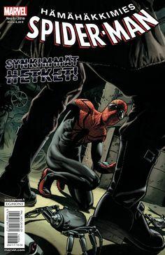 Spider-Man 6/2016 lehtipisteissä 22.6.2016! Ylivoimainen Venom pistää hösseliksi! #SpiderMan #Marvel #Venom #supersankari #sarjakuva