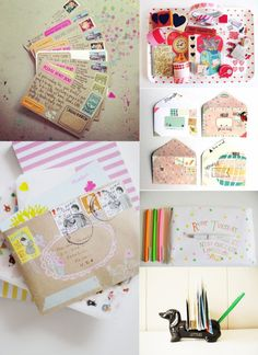 Today's blog post is all about penpals and packages / www.nadiavdmescht.co.
