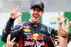 SEBASTIAN VETTEL is continuing his tradition of giving his race car a female name by calling his 2013 RB9 'Hungry Heidi'. The triple world champion kicked off the sequence in 2008, when he announced his Toro Rosso would be known as 'Julie'. Since then he has worked his way through 'Kate' and 'Kate's Dirty Sister' (2009), 'Luscious Liz' and 'Randy Mandy' (2010) and 'Kinky Kylie' (2011). He won his third drivers' championship last season with 'Abbey'.