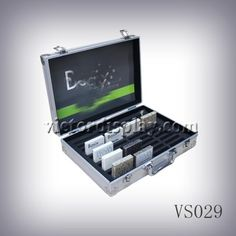 Xiamen Victor Industry & Trade Co., Ltd is the factory for tile display box,stone sample box,granite sample case. VS029 can carry 100*100*10mm samples. Aluminum case is durable and stylish. more design visit www.victordisplay.com