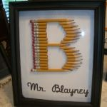 What a great idea for a gift for a teacher! So clever. It would be cute with chalk or crayons, too. Teacher gifts!