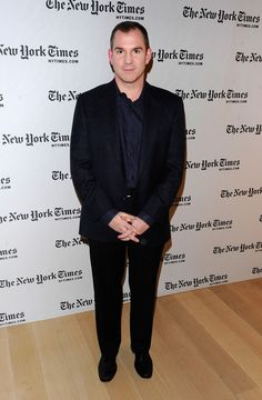Frank Bruni Photos Photos - New York Times Journalist Frank Bruni attends the 10th Annual New York Times Arts & Leisure Weekend photocall at the Times Center on January 6, 2011 in New York City. - 10th Annual New York Times Arts & Leisure Weekend - Kevin Spacey & Katie Couric Photocall
