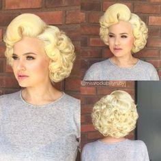 Hair by: Miss Rockabilly Ruby Model: Gia Genevieve