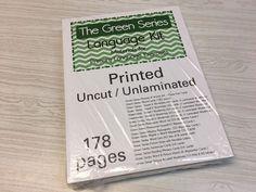 The Green Series - Language Kit - Montessori Materials- (PRINTED)