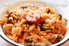 One Pot Creamy Orzo