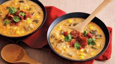 Bring Mexican flavors to your dinner table with this spicy chowder that's made using potatoes, corn, bacon and Progresso™ chicken broth.