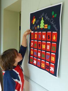 Tutorial : How to make a DIY advent calendar