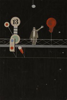 Xanti Schawinsky – Von Morgens bis Mitternacht (From Morning to Midnight),1926