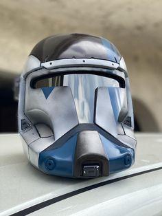 Clone Trooper Helmet, Star Wars Helmet, Star Wars Clone Wars, Star Wars Art, Star Wars Commando, Republic Commando, Fantasy Model, Star Wars Images, Armor Concept