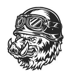 Vector Logo Design, Graphic Design, Japanese Tattoo Art, Unique Poster, Mascot Design, Graphic Illustration, Vector Illustrations, Animal Heads, Cool Logo