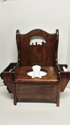 Potty Chair With Lid/Wooden Potty Chair/Black Bear Potty Chair With  Lid/Bear Potty Chair/ Pee Pee Tine/Baby Shower Gift/Toilet Trainingu2026