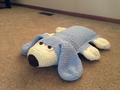 Crocheted Pillow Pet