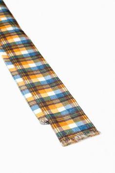 Mosca – Cravatta Printed Velvet Check