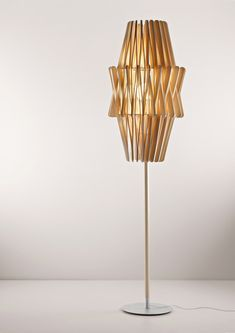 One of the series of Stick Lamps by Matali Crasset for Fabbian.