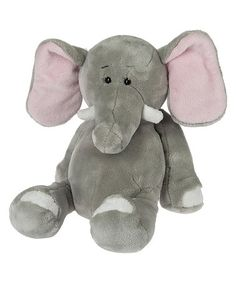 Another great find on #zulily! Gray Tubby Tummy Elephant Plush Toy #zulilyfinds