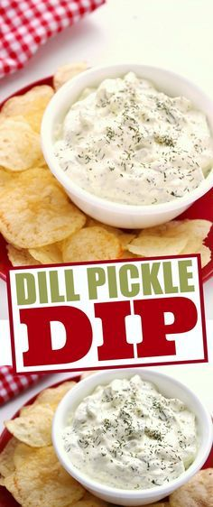This Dill Pickle Dip is a deliciously delectable dip. It is seriously addictive and full of flavour, sure to be a favourite dip recipe!