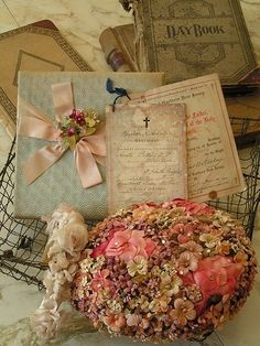 Old documents, old ledgers, old hat, beautiful!