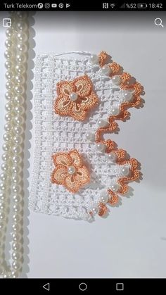 Crochet Lace Edging, Crochet Patterns, Crochet Doilies, Decoration Christmas, Home Decoration, Made By Mary, Lace Bracelet, Knitted Baby Blankets, Gold Embroidery