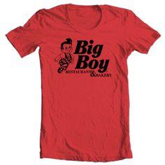 Big-Boy-Diner-T-shirt-retro-80s-restaurant-vintage-100-cotton-graphic-tee