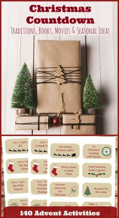 Printable Advent Calendar Ideas Christmas Countdown Activities
